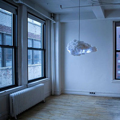 The cloud that brings a thunderstorm inside your room
