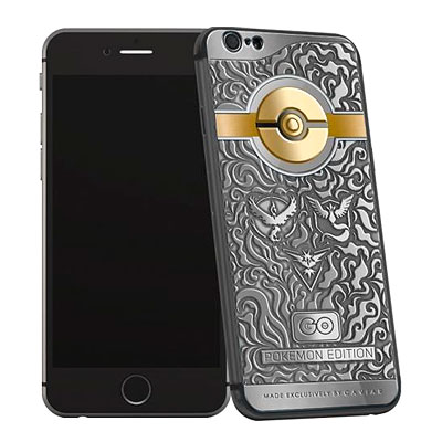 Pokemon Go gets a special edition iPhone 6S made in its honour