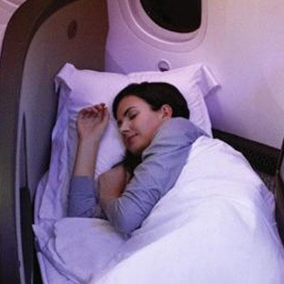 Banish jet lag with Virgin Atlantic's on-board relaxation techniques