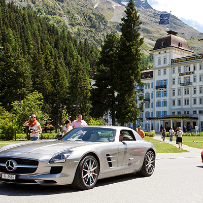 Unlimited golf in St. Moritz- on top of the world