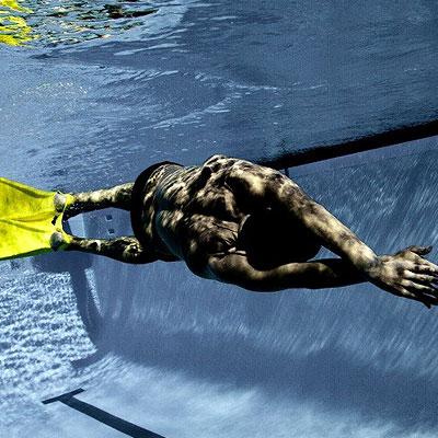 Swim literally like a sea creature with Foil Monofin