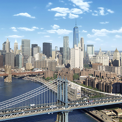 One Manhatten Square luxury towers hit real estate market