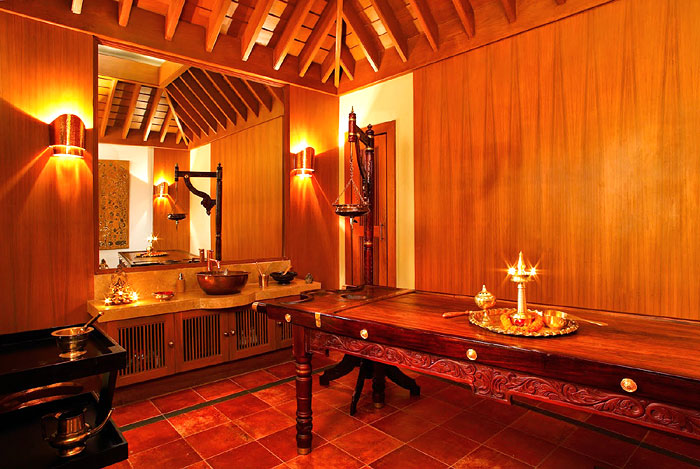 AYURVEDIC ABODE | With traditional therapies being offered by in-house trained therapists, the Kerala suite provides the perfect ambience for receiving the treatments