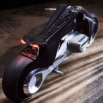 The futuristic BMW Motorrad Vision Next 100