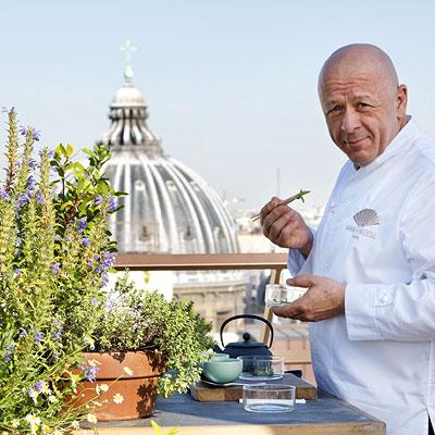 Mandarin Oriental Paris unveils urban rooftop vegetable garden