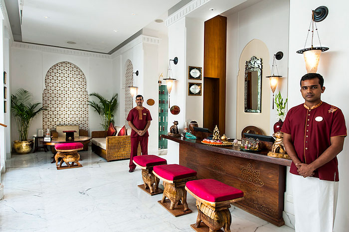 WINING WELCOME | A reception as beautiful as this augurs well for the indulgences to follow at The Imperial Spa