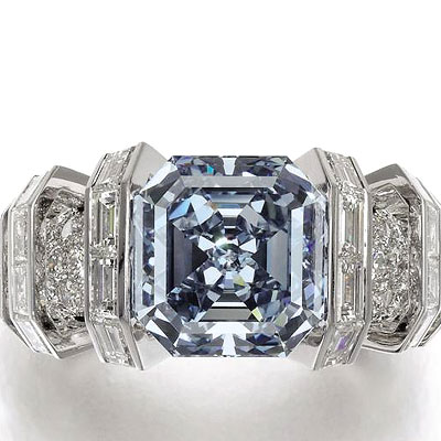 Unique sky blue diamond estimated at $25 m up for auction at Sotheby's