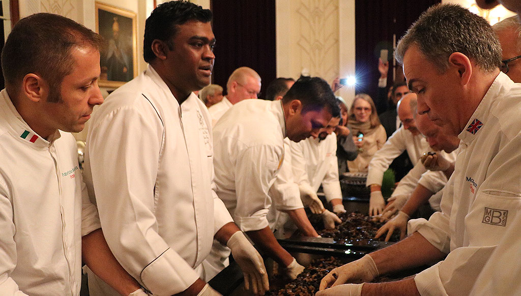 Chefs to Heads of State whip up a storm in Delhi