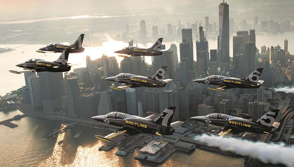 Breitling Jet Team finishes spectacular US tour