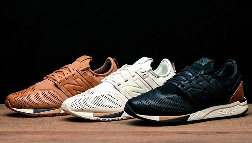 The New Balance 247 Luxe Version premium sneakers | TheLuxeCafé