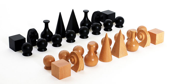 MAN RAY CHESS SET | This is one item which will occupy place of pride as the centrepiece of one's table set up