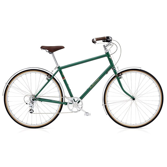 TICINO 8D BIKE | For the sporty spirits, this sleek beauty in a lovely shade of green matches precision with looks when it comes to bikes