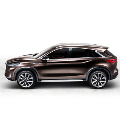 Infiniti's QX50 SUV concept to be unveiled at Detroit Auto Show 2017