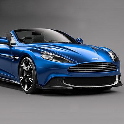 Aston Martin debuts the Vanquish S Volante