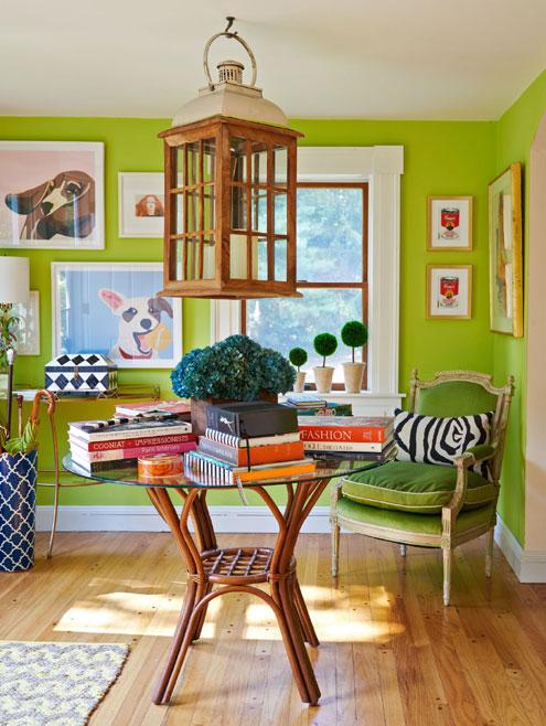 bright green vibe