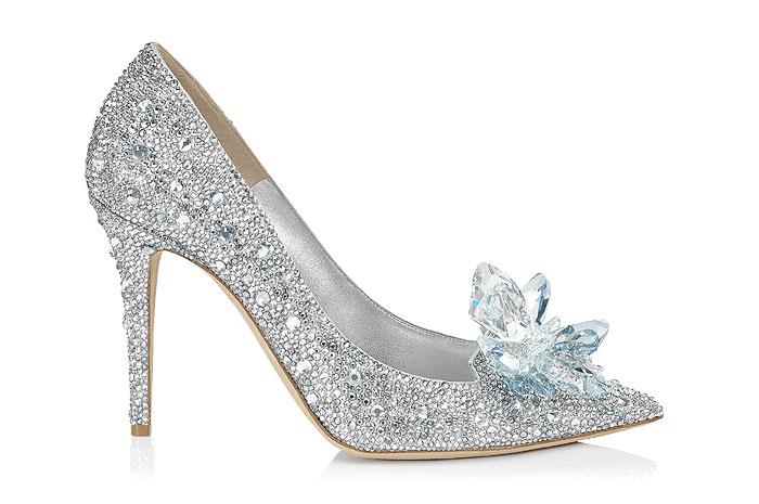 Jimmy Choo Cinderella pump, £2,995