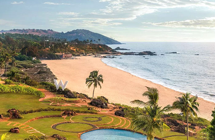 The W Goa is W Hotels' first property in India, where you can wallow in sea-side luxury