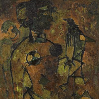 Rare painting of India's first Oscar winner Bhanu Athaiya on sale in Mumbai