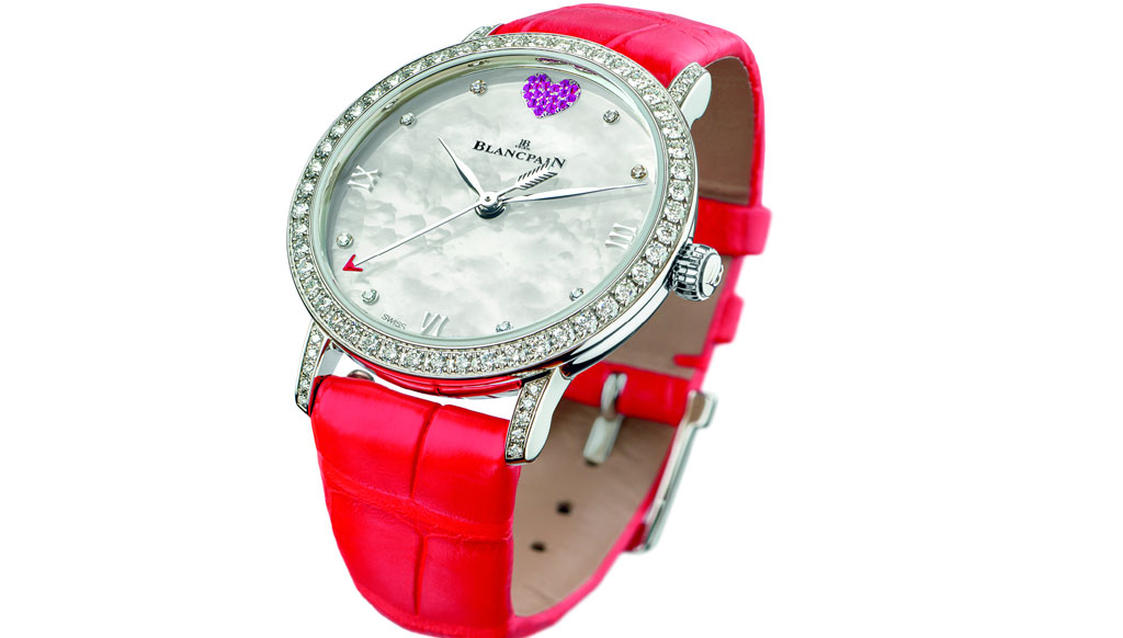 Perfect gift: Blancpain's watches for V-Day