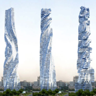 Dubai gets ready to build the world's first rotating skyscraper