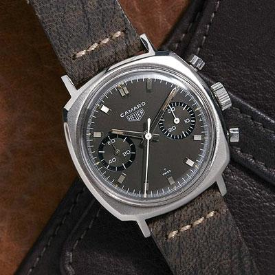 Behold the Vintage Heuer Camaro watch