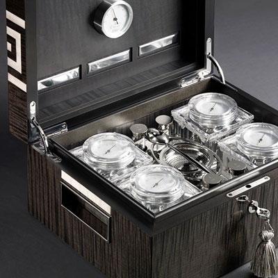 The world's first Tea Humidor presented by Asa Eriksson-Ahuja