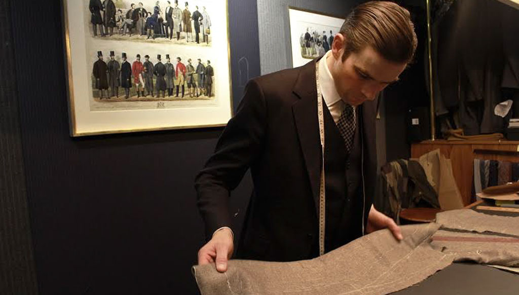 Huntsman Savile Row, Tengri join hands for the finest rare Noble Yak fabrics