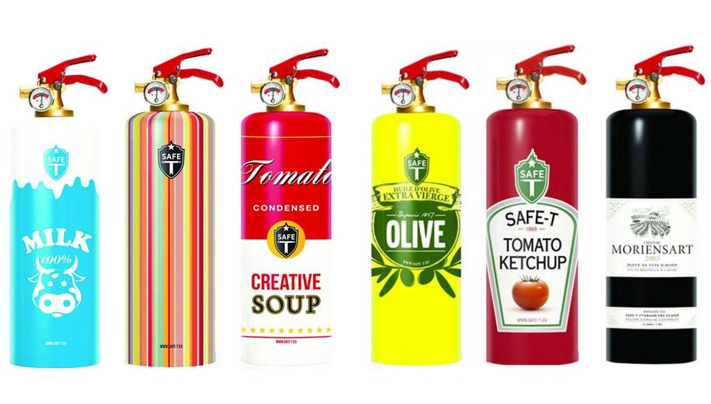 Bizarre Luxe: Designer fire extinguishers!