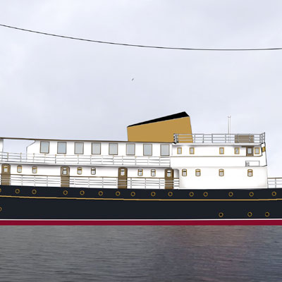 Edinburgh might get a luxury floating hotel soon