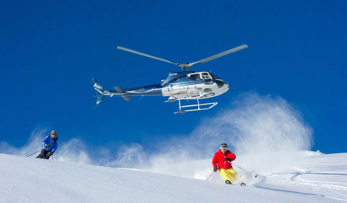 UP, UP AND BEYOND | Skiing and heli-skiing are two of the most glam snow sports that promise the thrill and the chill of a holiday in the hills