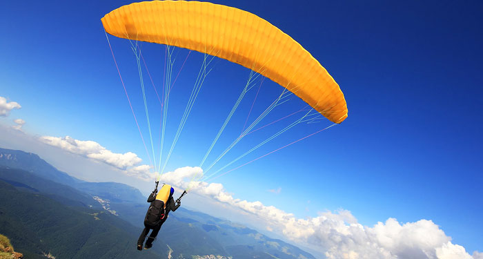 UP IN THE AIR | Paragliding, zorbing and parasailing are popular adventure sports which take flying to another level