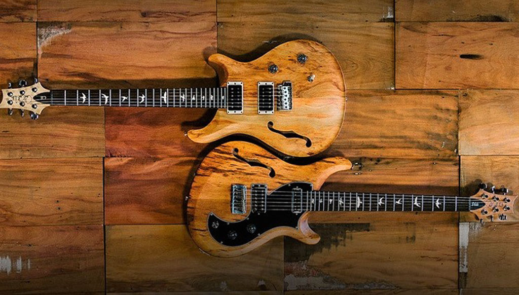 Feast your eyes on the Paul Reed Smith 'Reclaimed Series' Guitars