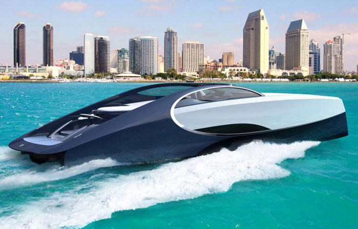 The prices for the smallest models of the superyacht would start at £1.5million