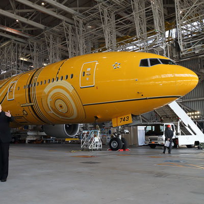 C3PO: That's ANA's latest Star Wars themed plane