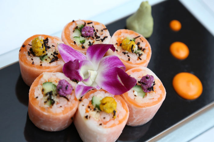 SUSHI AT THE TAJ | The Tah Mahal Hotel New Delhi offers one of a kind experiences to guests including sushi rolling tutorials with expert chefs at Wasabi