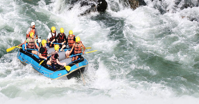 DOWN BY THE RIVER | White water rafting, waterfall rappelling are just some of the water sports which promise to give you the adrenaline rush of conquering the waves