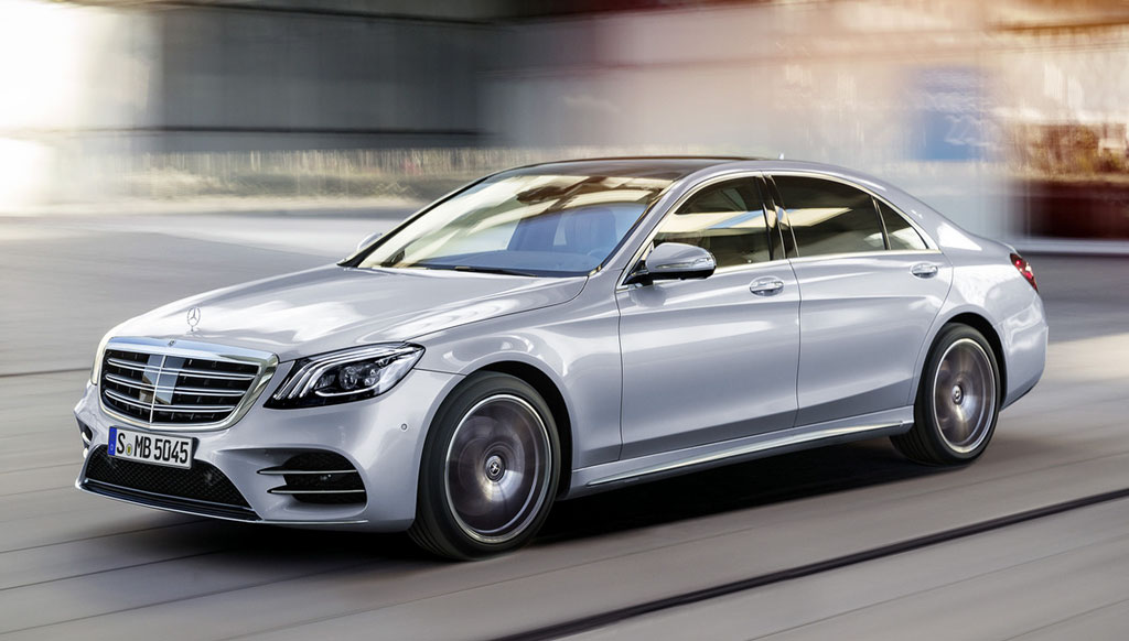 Mercedes-Benz S-Class facelift unveiled at Auto Shanghai 2017