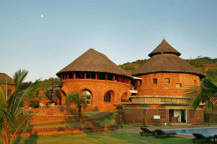 Located at Gokarna in Karnataka, SwaSwara is nestled between lush coconut groves and pristine shores