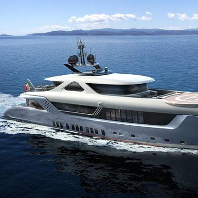 hybrid superyachts