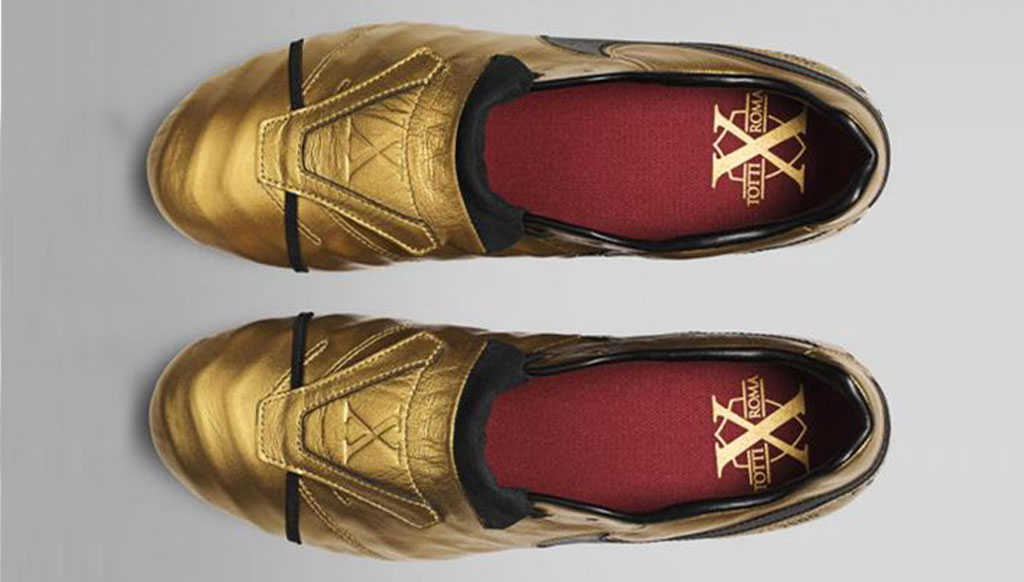 new product 880e1 dae54 Limited Edition: Tiempo Totti X Roma boots from Nike ...