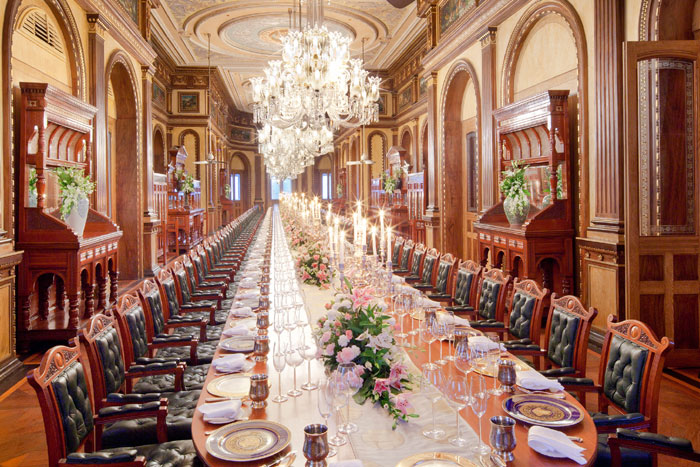 The world's longest dining table for a sit down dinner