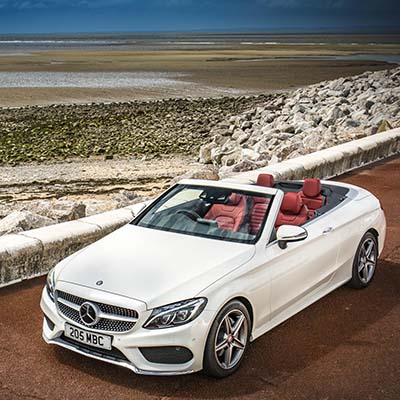Grace and pace: The Mercedes C-Class Cabriolet