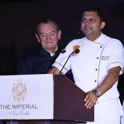 Inside the kitchen of the President of India