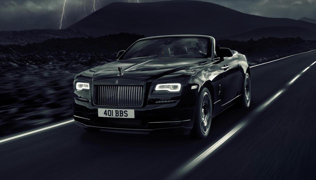 Gear up for the 593bhp Rolls Royce Dawn Black Badge