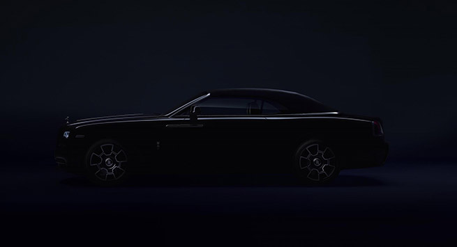 Rolls Royce wants the Black Badge to appeal to a younger, more dynamic patron of luxury