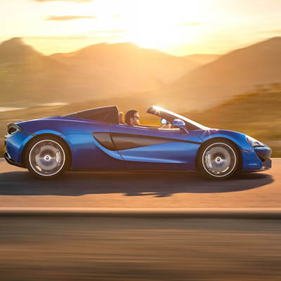 Here stands McLaren's 570S Spider—topless and stunning