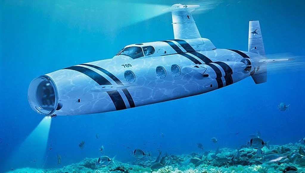 Feast your eyes on the Neyk luxury submarine