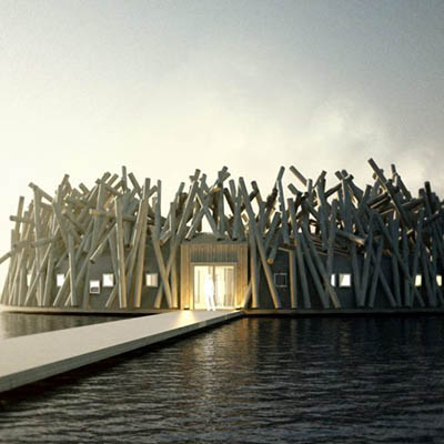 Sweden's unique floating hotel and spa