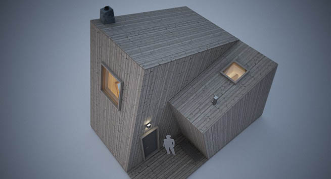 Cabins float individually or stand still depending on the season