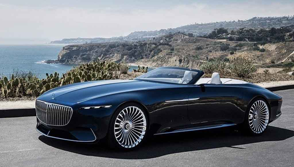The Mercedes-Maybach Vision 6 Cabriolet